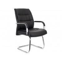 Кресло посетителя Bond экокожа черная
