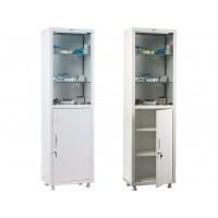Одностворчатый медицинский шкаф HILFE МД 1 1650/SG
