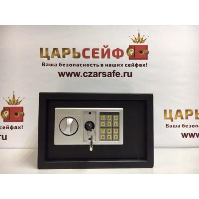 Мебельный сейф-Меткон ШМ 25Э (черный)