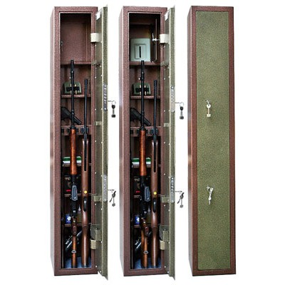 Оружейный сейф-Меткон ОШ 3П (3 ствола)